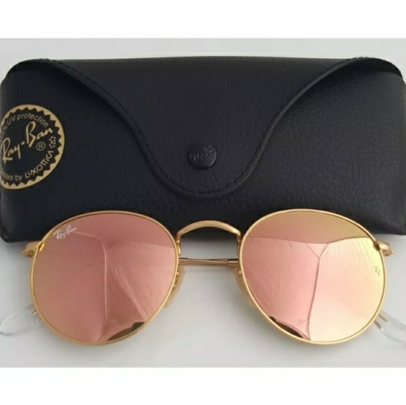a0b2700531dcb store ray ban round metal 112 z2 sunglasses pink receipt 2d9ad a500e